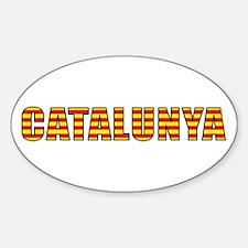 Catalonia Sticker (Oval)