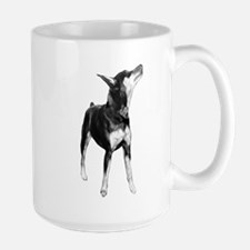 Miniature Pinscher Sketch Mug
