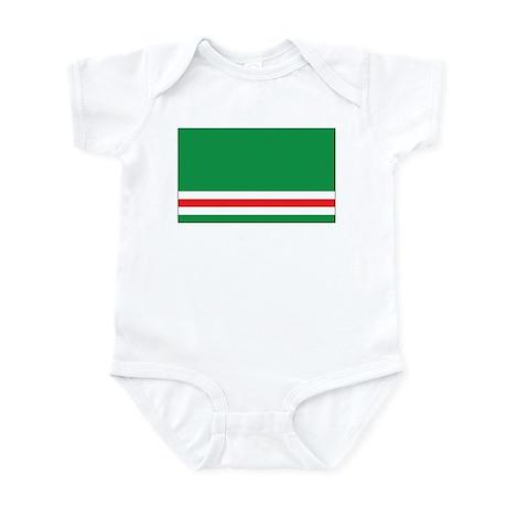 Chechnya-Ichkeria Flag Infant Bodysuit