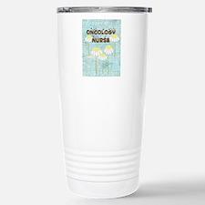Oncology Nurse Daisies Electronics.PNG Travel Mug