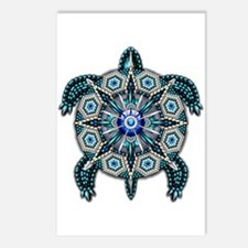 Native American Turtle 01 Postcards (Package of 8)