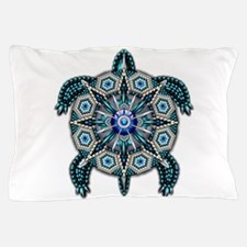 Native American Turtle 01 Pillow Case