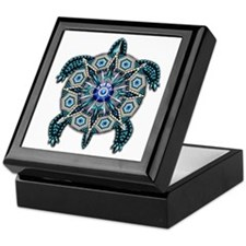 Native American Turtle 01 Keepsake Box