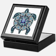 Native American Turtle 01 Keepsake Box