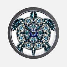 Native American Turtle 01 Wall Clock