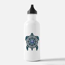 Native American Turtle 01 Water Bottle