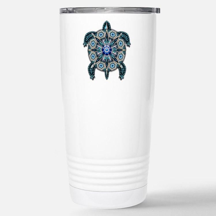 Native American Turtle 01 Travel Mug