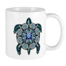 Native American Turtle 01 Small Mug
