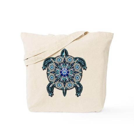 Native American Turtle 01 Tote Bag