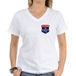 100 Missions Women's V-Neck T-Shirt