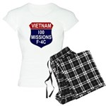 100 Missions Women's Light Pajamas