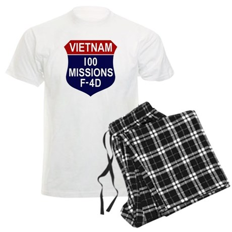 100 Missions Men's Light Pajamas