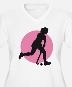 female hockey player T-Shirt