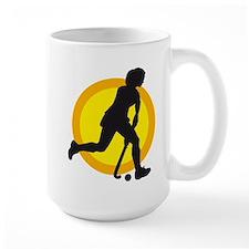 female hockey player Mug