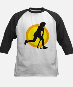 female hockey player Tee