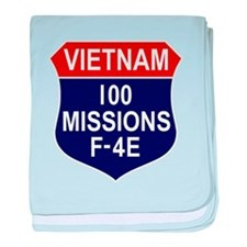 100 Missions baby blanket