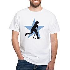 female hockey player Shirt