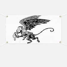 Winged Monkey Banner