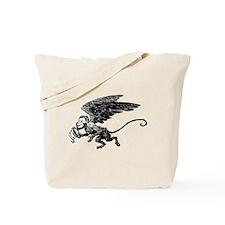 Winged Monkey Tote Bag