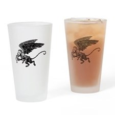 Winged Monkey Drinking Glass
