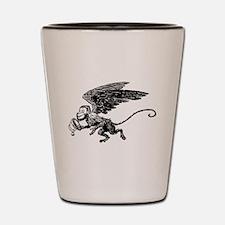 Winged Monkey Shot Glass