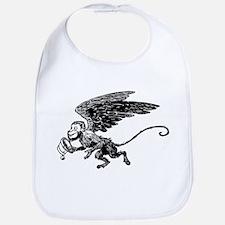 Winged Monkey Bib