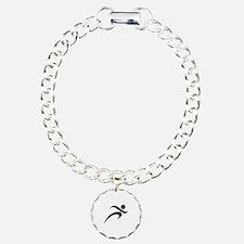 Running Charm Bracelet, One Charm