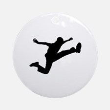 Running Ornament (Round)