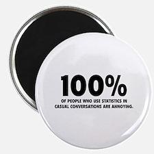 100% Statistics Magnet