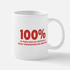 100% Statistics Mug