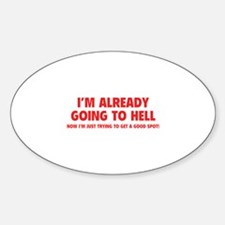 I'm already going to hell Decal