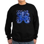 Blue Octopus Sweatshirt (dark)