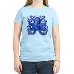 Blue Octopus Women's Light T-Shirt