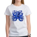 Blue Octopus Women's T-Shirt