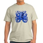 Blue Octopus Light T-Shirt