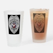 DFW ALERTS SUPPORTER Drinking Glass