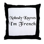 The French Throw Pillow
