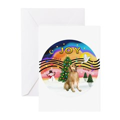 XM2 - Golden (#5) Greeting Cards (Pk of 20)