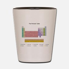 Colorful Periodic Table Shot Glass