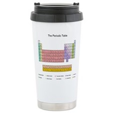 Colorful Periodic Table Thermos Mug