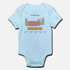 Colorful Periodic Table Infant Bodysuit