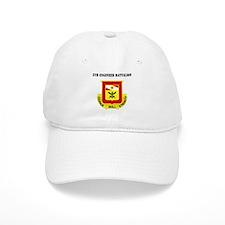 DUI - 5th Engineer Battalion with Text Baseball Baseball Cap