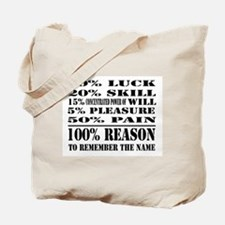 remember the name frontonly copy.jpg Tote Bag