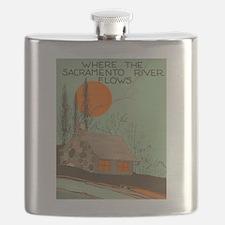 Vintage Sacramento Flask