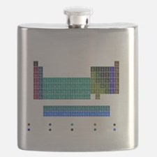 Blue Periodic Table Flask