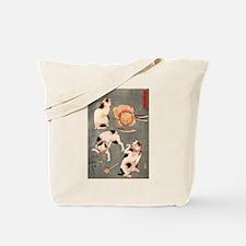 Utagawa Kuniyoshi Cats Tote Bag