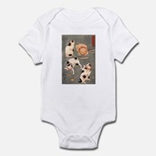 Utagawa Kuniyoshi Cats Infant Bodysuit