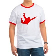 Freefall Silhouette 2 Ringer (Red)