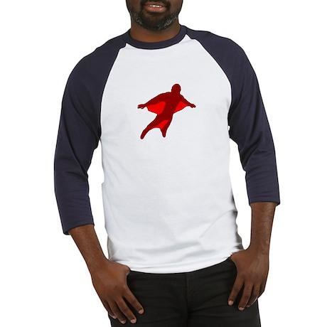 Wingsuit 2 (Red) Baseball Jersey