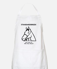 Standardbreds... On Track To Win Your Heart! Apron